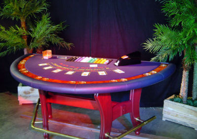 blackjacktafel huren